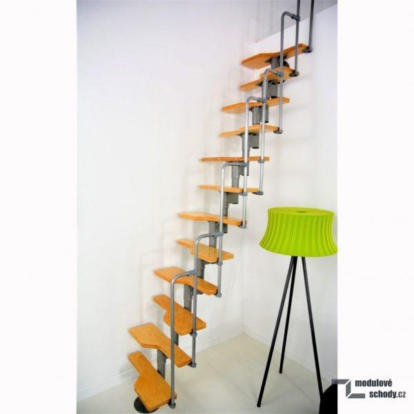 Mlynarske schody Minka Twister_pudni schody_4