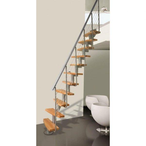 Modulove mlynarske schody Atrium Mini Plus Rail_samonosne schodiste_5