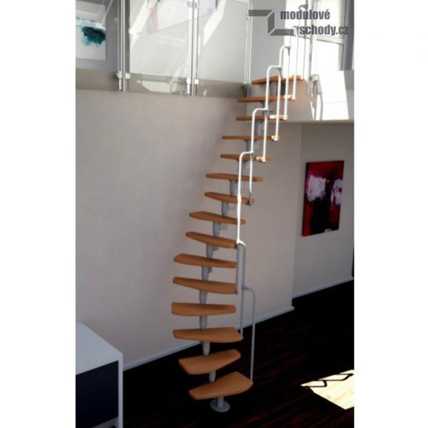 Modulove mlynarske schody Minka Monaco_samonosne schodiste_2