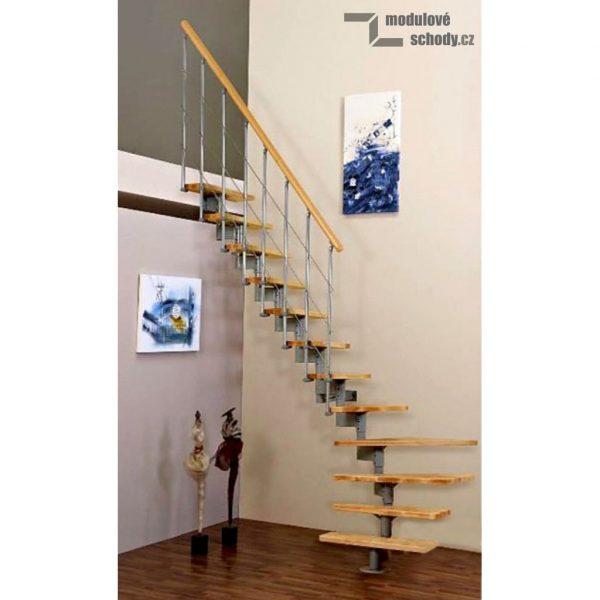 Stylové modulové schodiště Minka Style