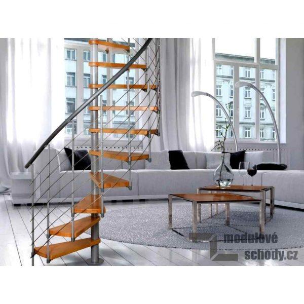 Modulove tocite schody Atrium Novo_samonosne schodiste_6