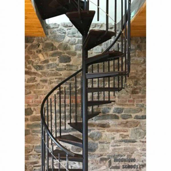 Vřetenové schodiště Atrium Solo Plus