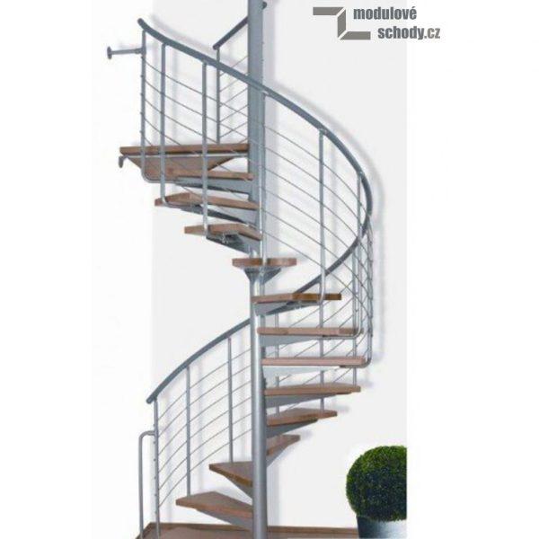Modulove tocite schody Atrium System Easy_samonosne schodiste_2