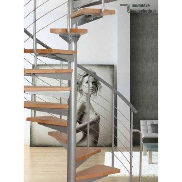Modulove tocite schody Atrium System Plus_samonosne schodiste_3