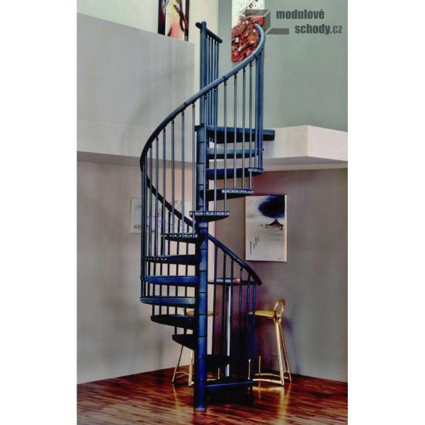 Modulove tocite schody Minka Rondo Color_samonosne schodiste_2