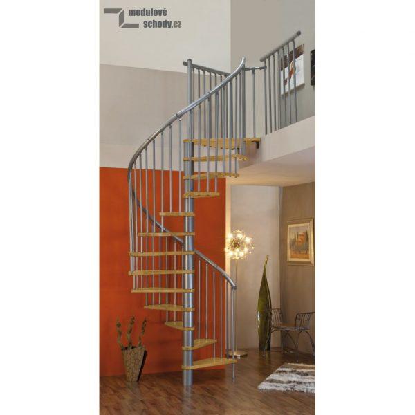 Modulove tocite schody Minka Rondo Spiral Effect_samonosne schodiste_3