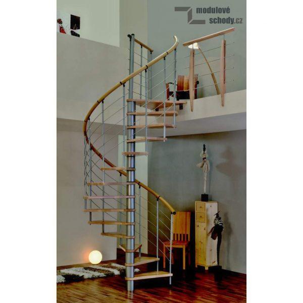 Modulove tocite schody Minka Venezia buk_samonosne schodiste_2