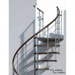 Modulove tocite schody Minka Venezia walnut_samonosne schodiste_1