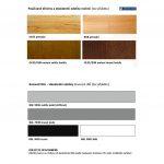Schodiste Atrium moznosti barev