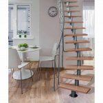 Stavebnicove schody Atrium Dixi se samonosnou konstrukci